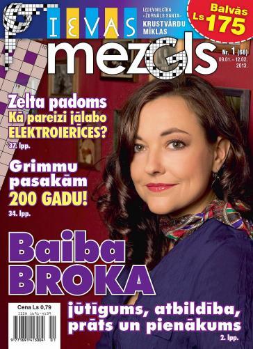 IEVAS MEZGLS Nr. 1 2013