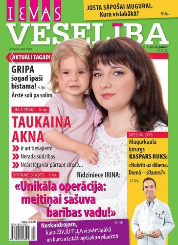 IEVAS VESELĪBA Nr. 2 2013