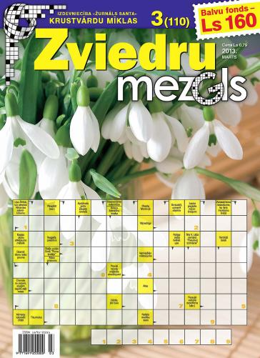ZVIEDRU MEZGLS Nr. 3 2013