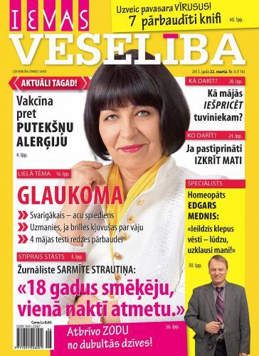 IEVAS VESELĪBA Nr. 6 2013
