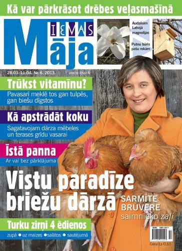 IEVAS MĀJA Nr. 6 2013