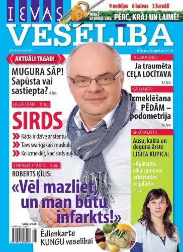 IEVAS VESELĪBA Nr. 8 2013