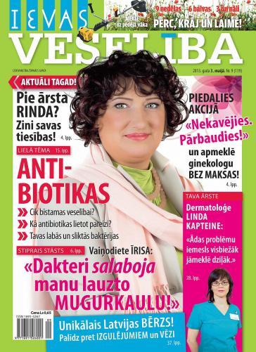 IEVAS VESELĪBA Nr. 9 2013