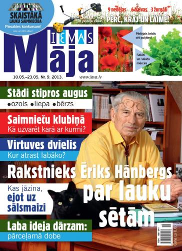 IEVAS MĀJA Nr. 9 2013