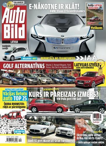 AUTO BILD LATVIJA Nr. 10 2009