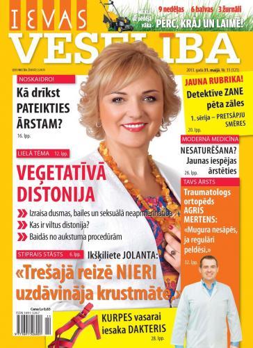 IEVAS VESELĪBA Nr. 11 2013