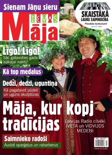 IEVAS MĀJA Nr. 11 2013