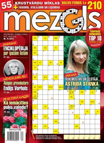 MEZGLS Nr. 15 2013