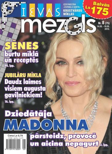 IEVAS MEZGLS Nr. 8 2013