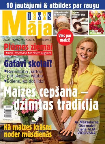 IEVAS MĀJA Nr. 17 2013