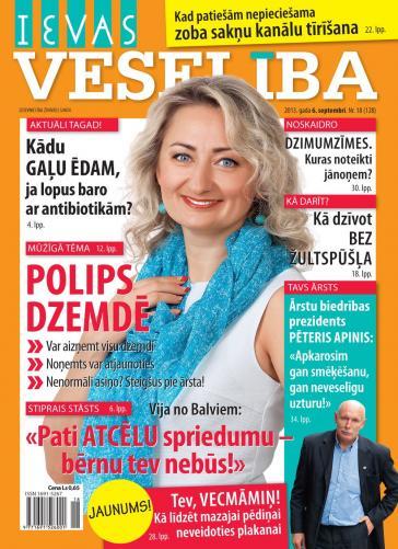 IEVAS VESELĪBA Nr. 18 2013