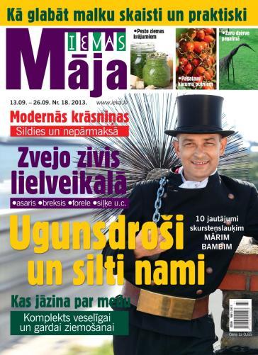 IEVAS MĀJA Nr. 18 2013