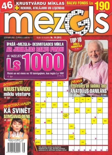 MEZGLS Nr. 19 2013