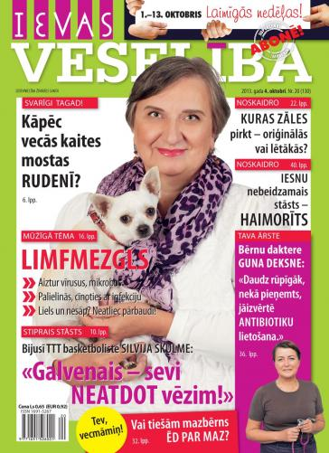 IEVAS VESELĪBA Nr. 20 2013