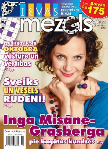 IEVAS MEZGLS Nr. 10 2013
