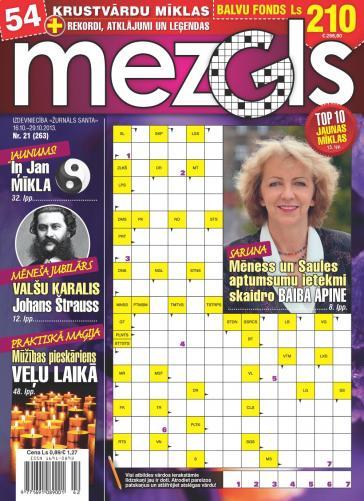 MEZGLS Nr. 21 2013
