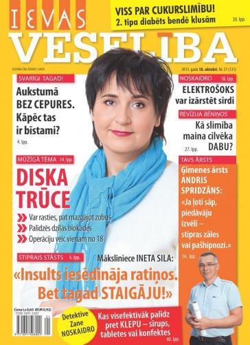 IEVAS VESELĪBA Nr. 21 2013