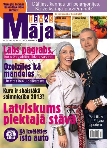 IEVAS MĀJA Nr. 21 2013