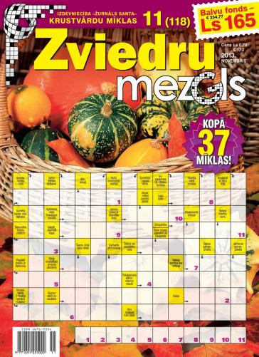 ZVIEDRU MEZGLS Nr. 11 2013