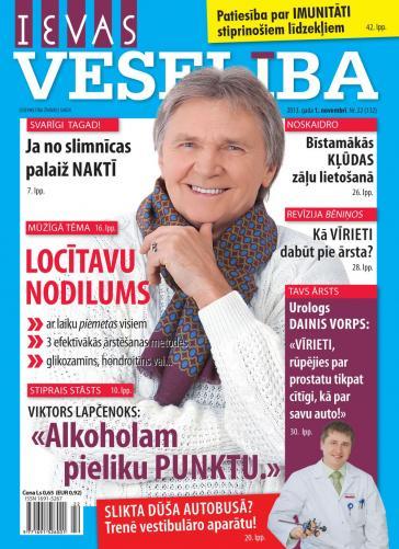 IEVAS VESELĪBA Nr. 22 2013