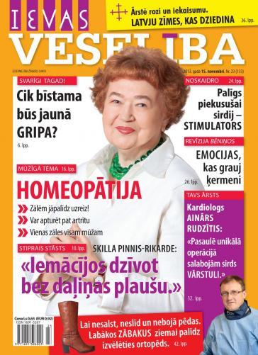 IEVAS VESELĪBA Nr. 23 2013
