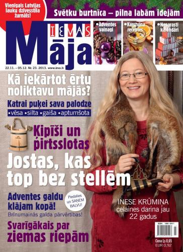 IEVAS MĀJA Nr. 23 2013