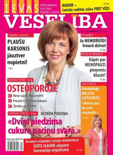 IEVAS VESELĪBA Nr. 24 2013