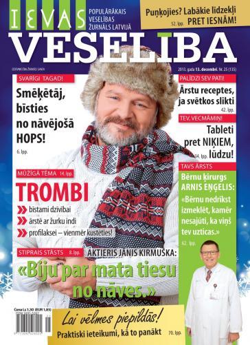 IEVAS VESELĪBA Nr. 25/26 2013