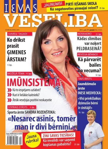 IEVAS VESELĪBA Nr. 2 2014