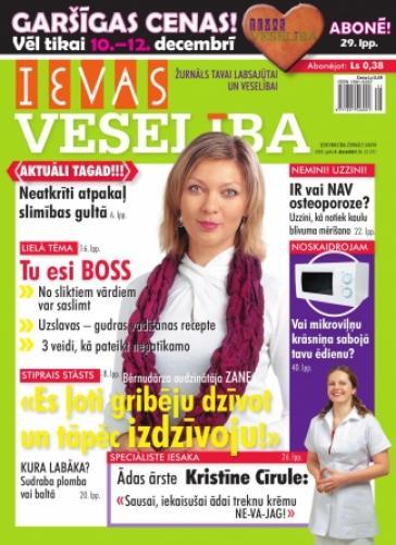 IEVAS VESELĪBA Nr. 25 2009