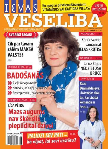 IEVAS VESELĪBA Nr. 6 2014
