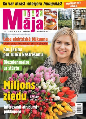 IEVAS MĀJA Nr. 6 2014
