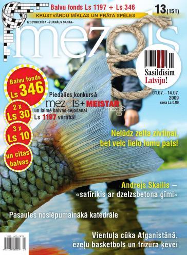 MEZGLS Nr. 13 2009