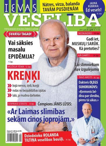 IEVAS VESELĪBA Nr. 9 2014