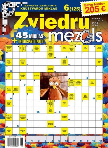ZVIEDRU MEZGLS Nr. 6 2014
