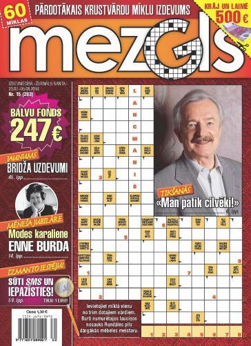 MEZGLS Nr. 15 2014