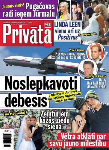 PRIVĀTĀ DZĪVE Nr. 29 2014