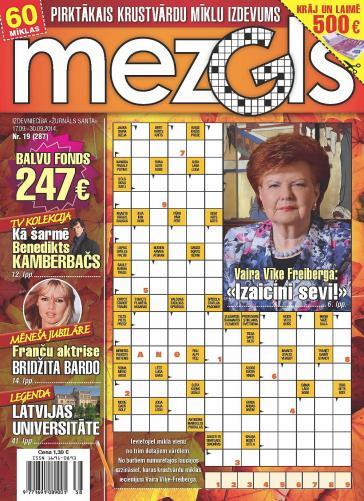 MEZGLS Nr. 19 2014