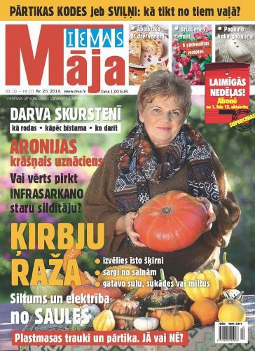 IEVAS MĀJA Nr. 20 2014