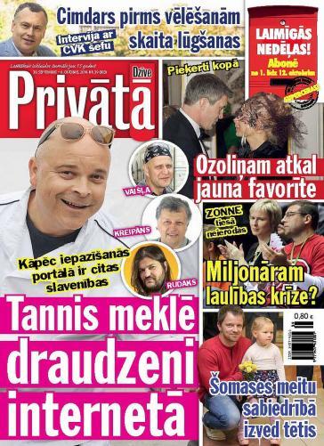 PRIVĀTĀ DZĪVE Nr. 39 2014