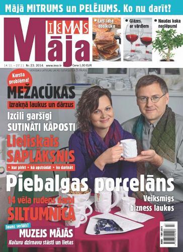 IEVAS MĀJA Nr. 23 2014