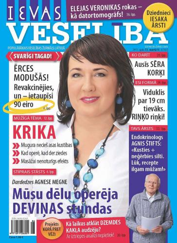 IEVAS VESELĪBA Nr. 6 2015
