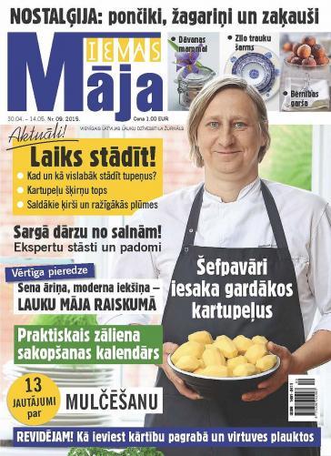 IEVAS MĀJA Nr. 9 2015