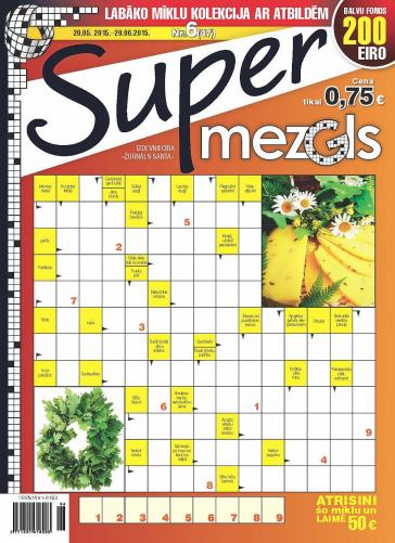 Supermezgls Nr. 6 2015