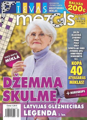 IEVAS MEZGLS Nr. 9 2015