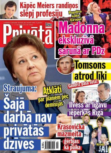 PRIVĀTĀ DZĪVE Nr. 50 2015