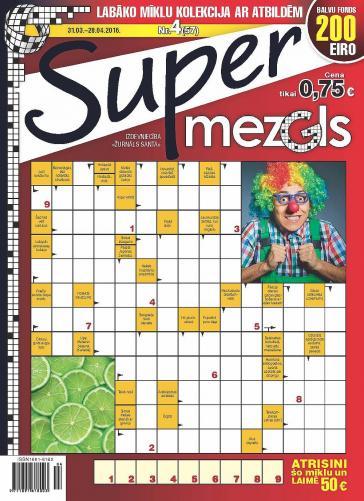 Supermezgls Nr. 4 2016