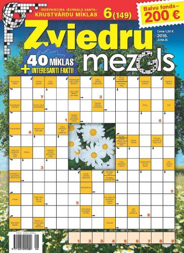 ZVIEDRU MEZGLS Nr. 6 2016