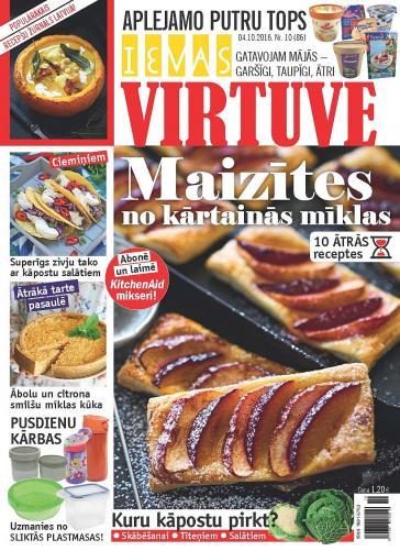 IEVAS VIRTUVE Nr. 10 2016