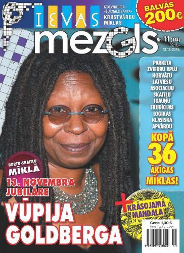 IEVAS MEZGLS Nr. 11 2016